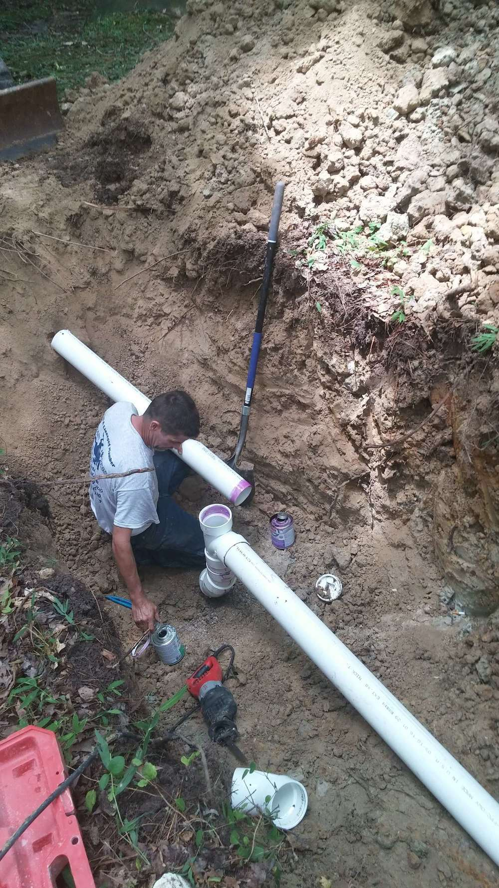 Forest grove plumbing water and drain line installation for Forest grove plumbing