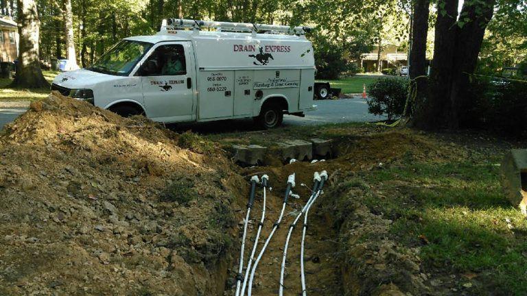 Carrboro drain repair