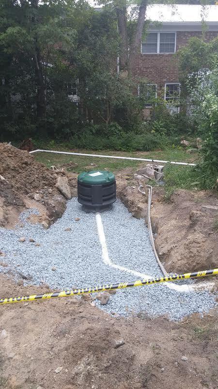 Carrboro Sump Pump Installation