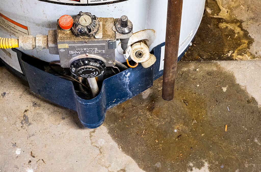 How To Fix A Leaking Water Heater